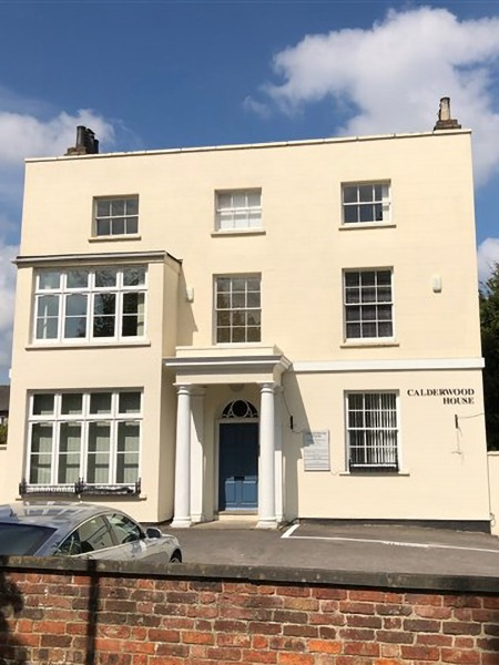 Calderwood house, counselling rooms in Cheltenham